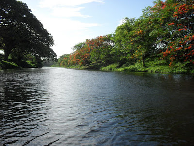 Río Sagua al pie del parque del Pelón