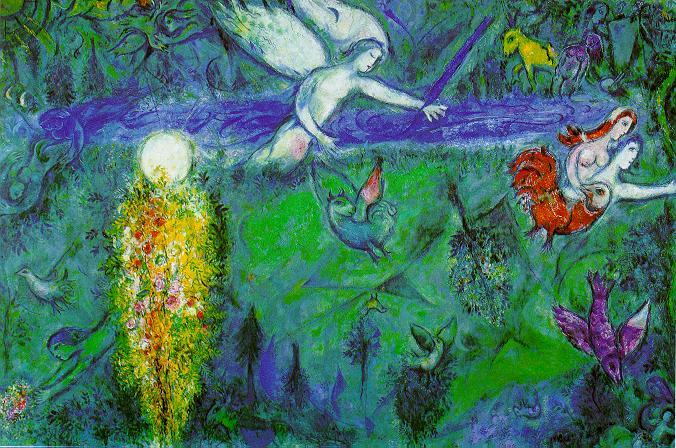 Pinturas de Marc Chagall
