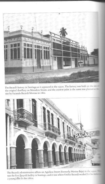 Fabricas de Bacardi. Copiado del libro.