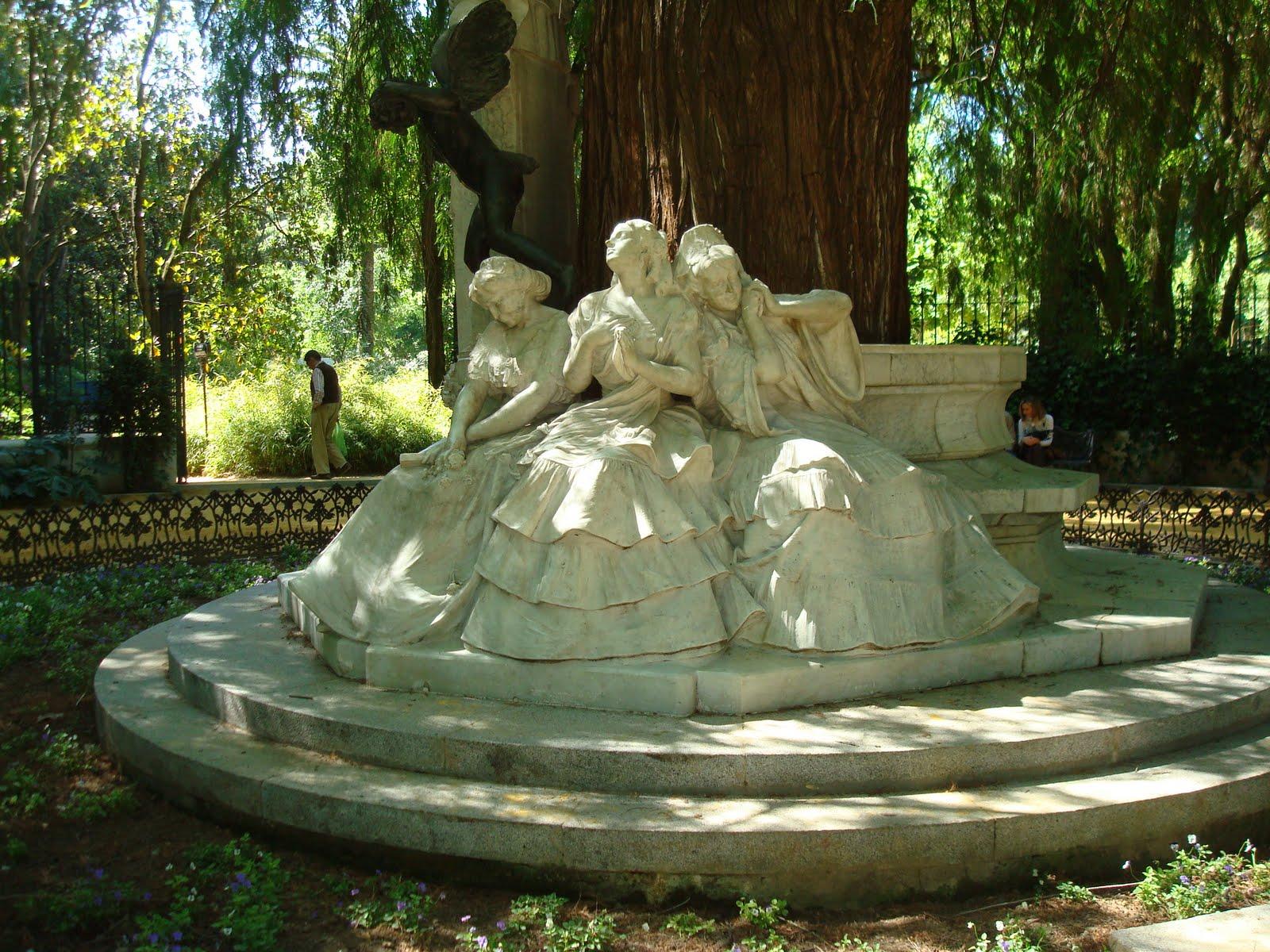 Glorieta de Bécquer, Parque de María Luísa, Sevilla | CJaronu´s Blog