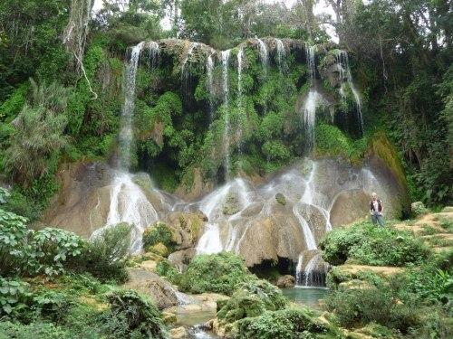 Cascadas el Nicho, ubicada en el Escambray