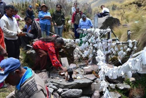 www.inah.gob.mx - Ofrecen ofrendas para calmar al volcán