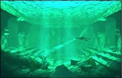 captadas por el robot submarino
