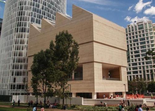 Fachada del Museo Jumex en Ciudad de México