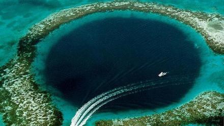 Gran agujero azul. Belice. Foto: ABC