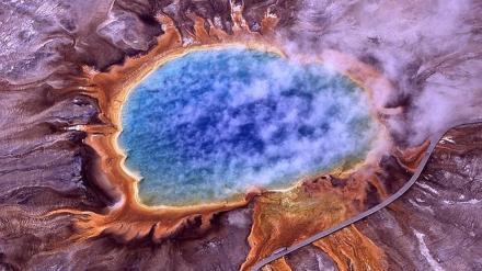 La Gran Fuente Prismática. Yellowstone. EE. UU. Foto: ABC