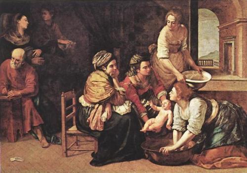 Artemisia-Gentileschi-Birth-of-St-John-the-Baptist
