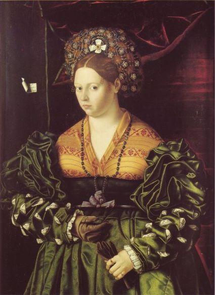 Bartolomeo Veneto - Ritratto Di Gentildonna--