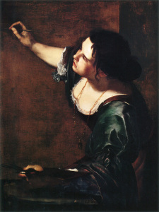 Autorretrato-Alegoria de la pintura - Fuente: wikipedia-
